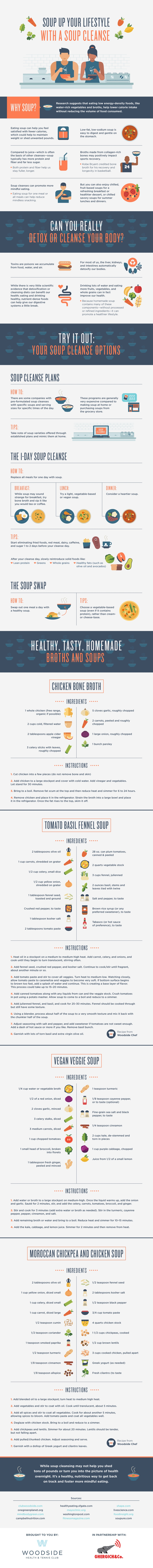 Benefits of Soup Cleansing