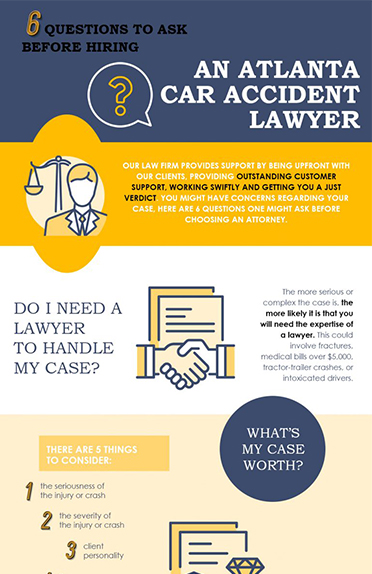 Questions to Ask Before Hiring an Atlanta Car Accident Lawyer
