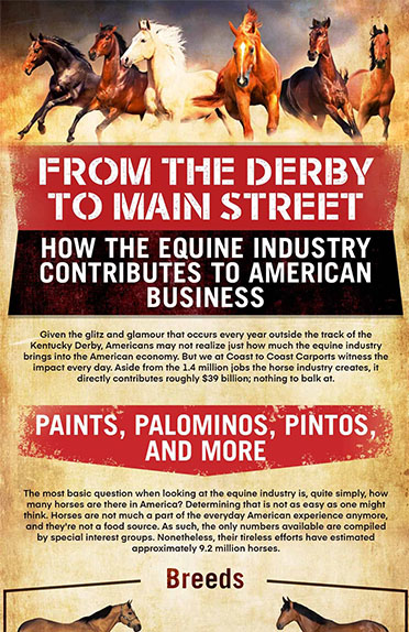From the Derby to Main Street: How the Equine Industry Contributes to American Business