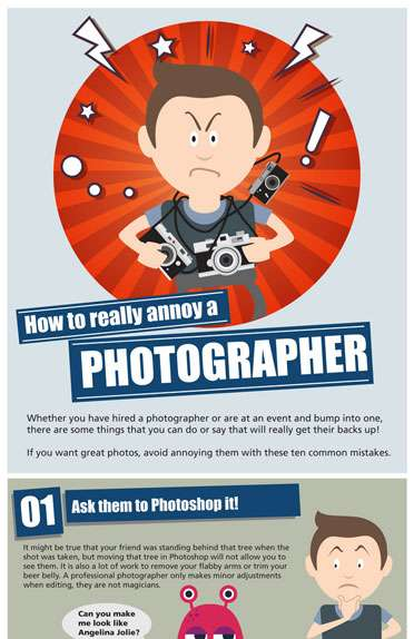 How to Piss off a Photographer?