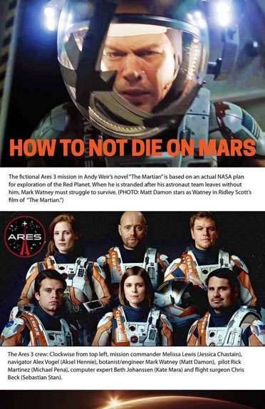 How To Stay Alive On Mars?