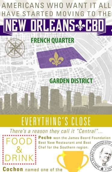 Everyone is Moving to New Orleans Central Business District
